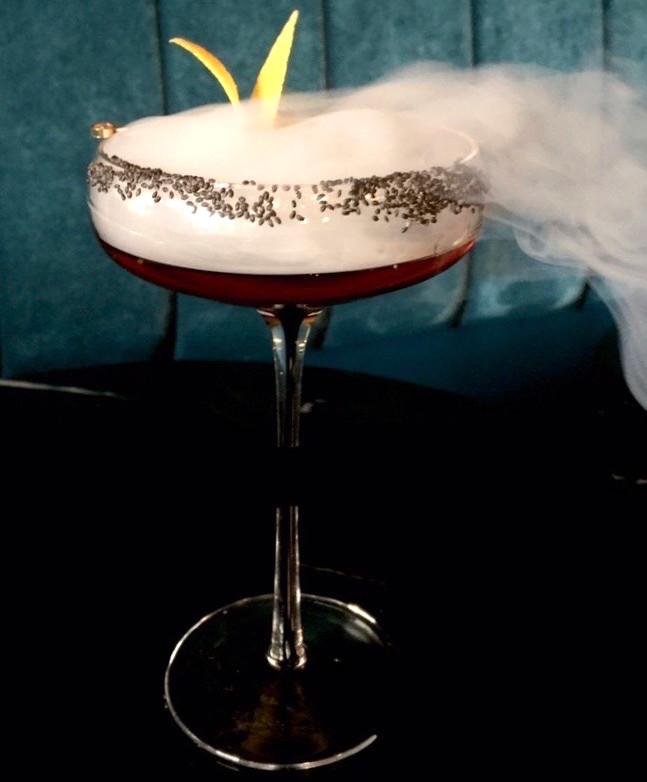 The smoky Marie Laveau at Harlem's Sugar Monk