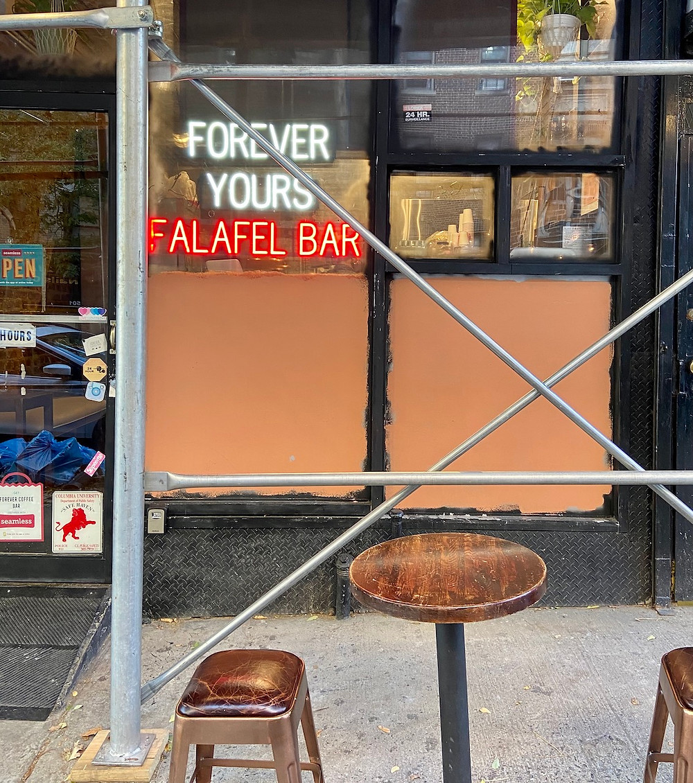 Forever Yours Falafel in the new vegan-friendly takeout spot Washington Heights