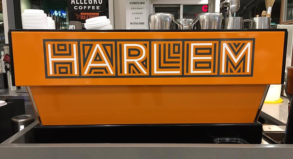 Coffee bar at Whole Foods Harlem