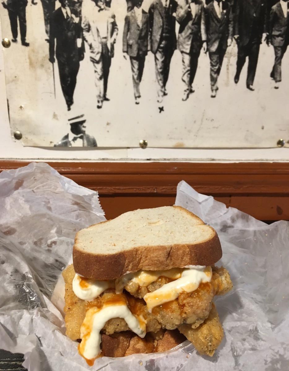 Black-owned restaurants in Harlem: Devin's Fish & Chips