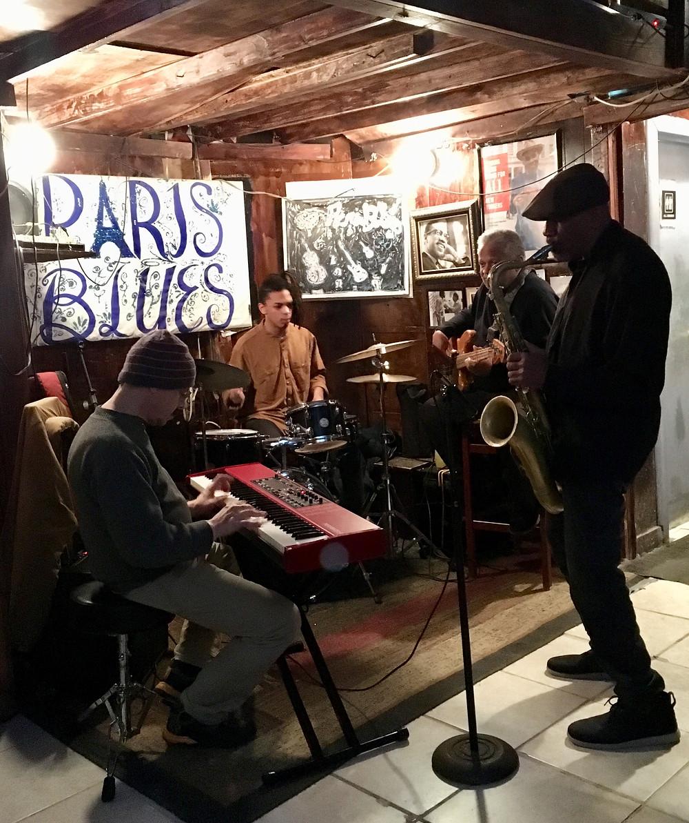 Paris Blues in Harlem is open seven days a week