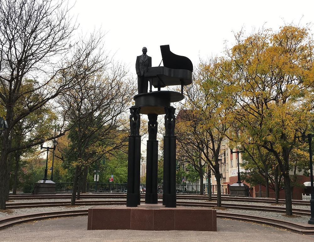 Duke Ellington Memorial in Harlem