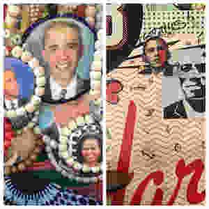 Barack Obama images in Harlem