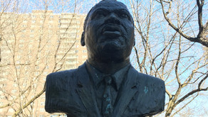 Searching for Martin Luther King, Jr.'s statue in Harlem