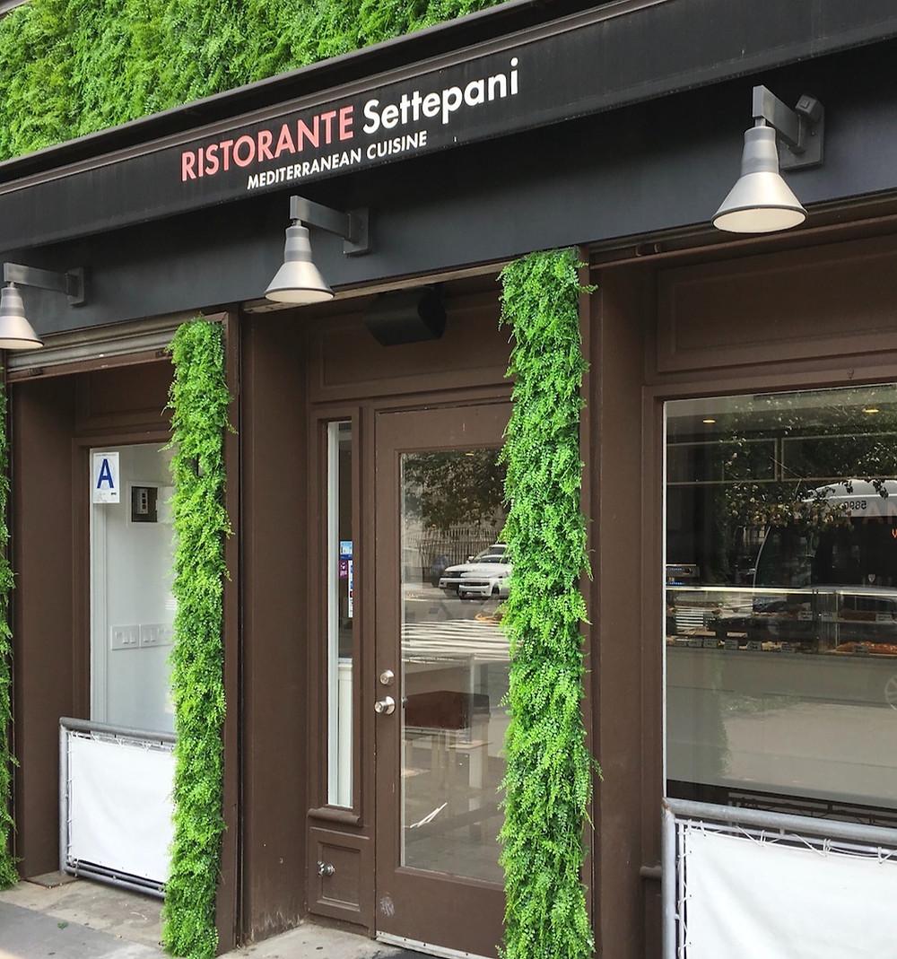 Settepani in Harlem reopened this week