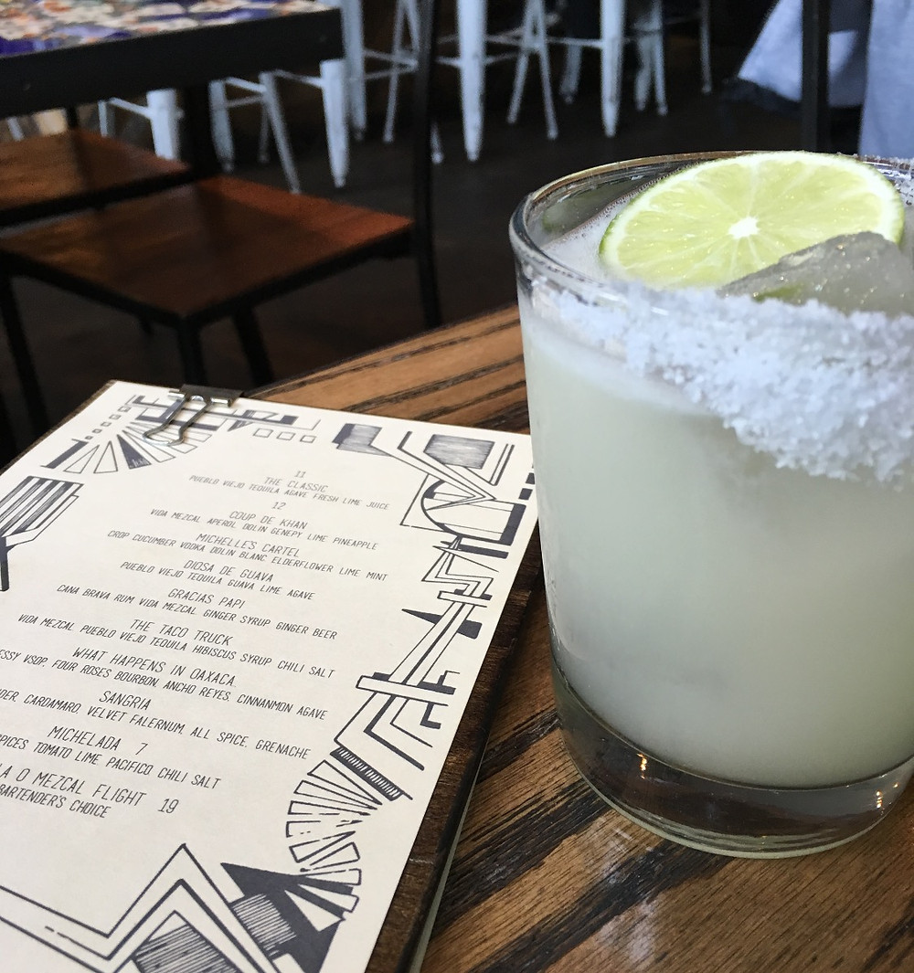 The exceptional margarita at Oso Harlem