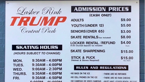 NYC is cancelling its contract with the Trump Organization to run Lasker Rink