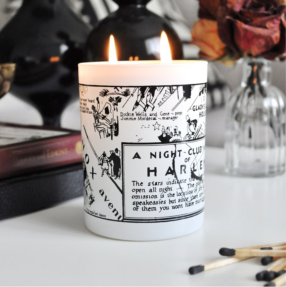 Ellington candle from Harlem Candle Company