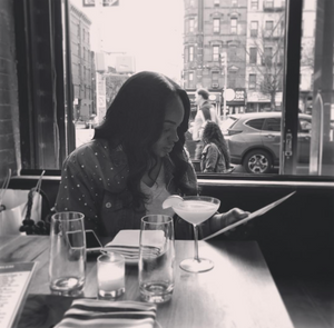 "NYC food blogger Dominek Tubbs of ""Dom n' the City"""