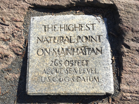 How to find the highest point in Manhattan (and what brought George Washington there)
