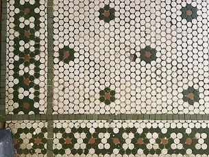 vintage Harlem floor tiles