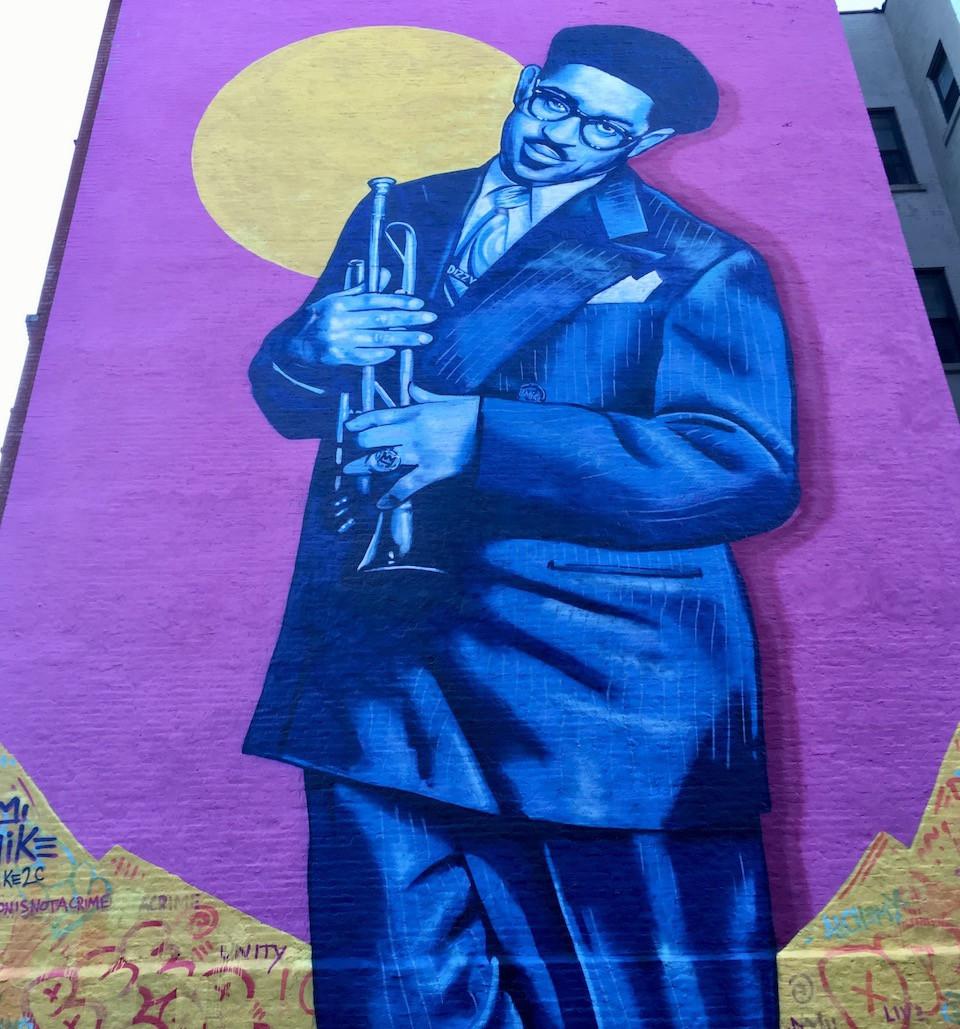 Dizzy Gillespie by Brandan Bmike Odums and Marthalicia Matarrita