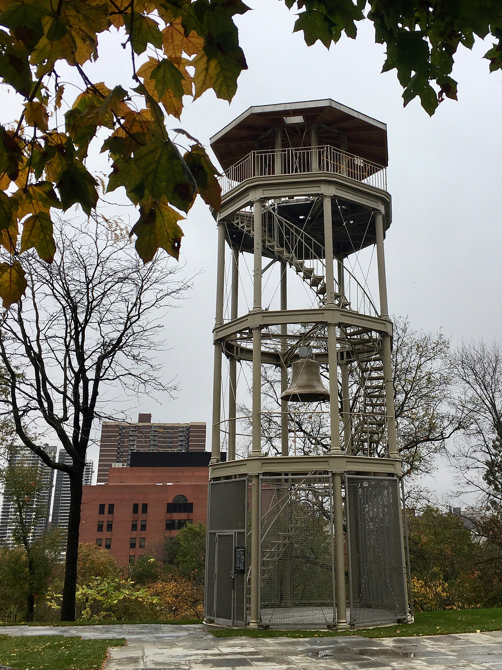 The Mount Morris Fire Watchtower in Harlem