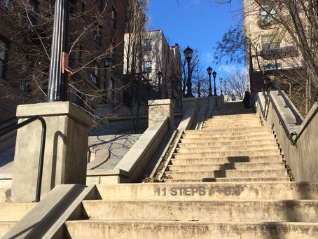 These uptown step streets have all the cinematic drama of the 'Joker' stairs–and none of the crowds