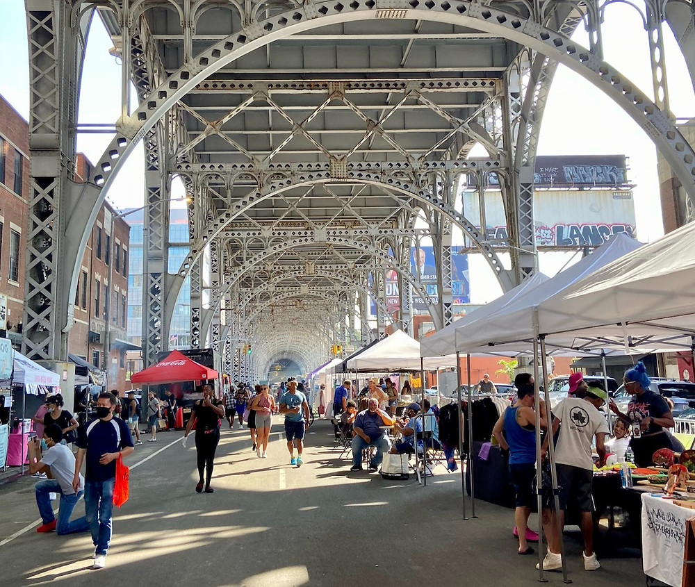 Here's the latest info on the Uptown Night Market coming to West Harlem