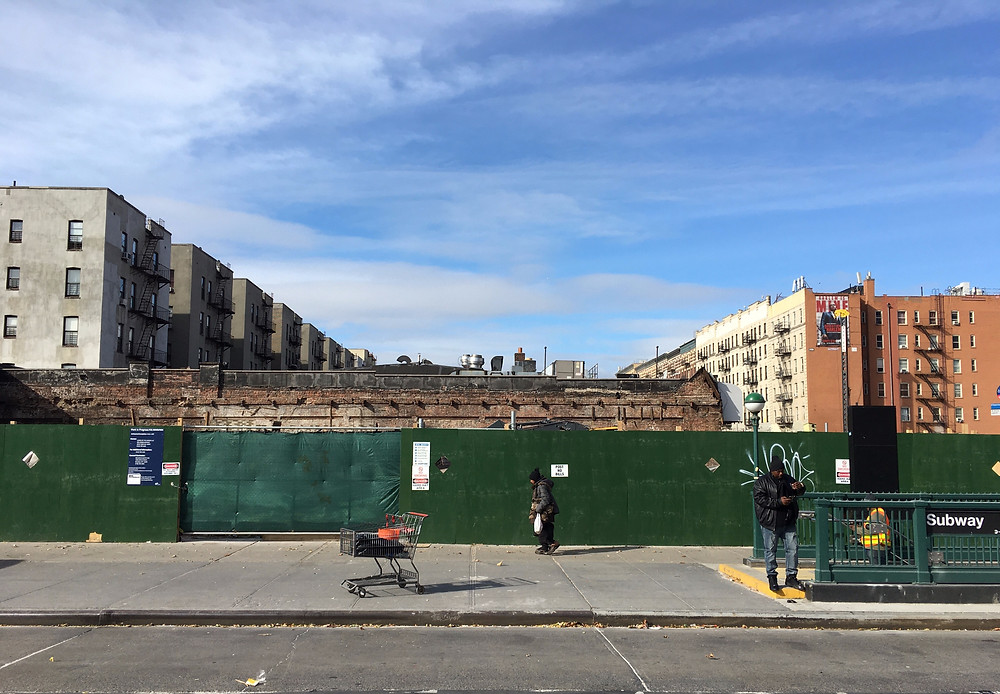 The building that housed the Hotel Olga–the premiere hotel for African-Americans during the Harlem Renaissance–is now rubble