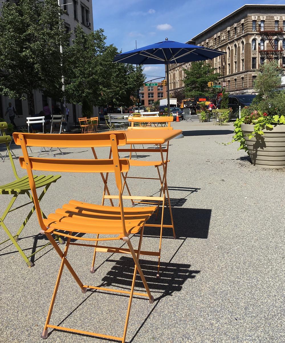 Johnny Hartman Plaza, a pretty new public oasis in Hamilton Heights