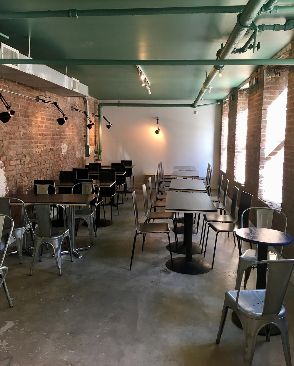 Taszo's newest location at 366 Audubon Avenue in Washington Heights
