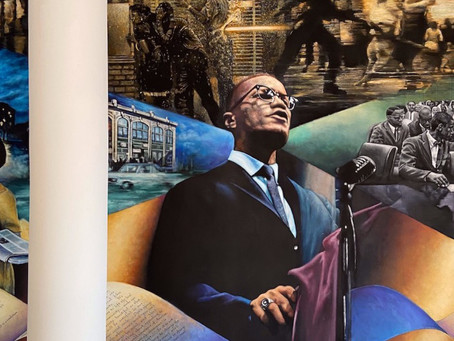 This year's commemoration of Malcolm X in the former Audubon Ballroom features a Netflix docuseries