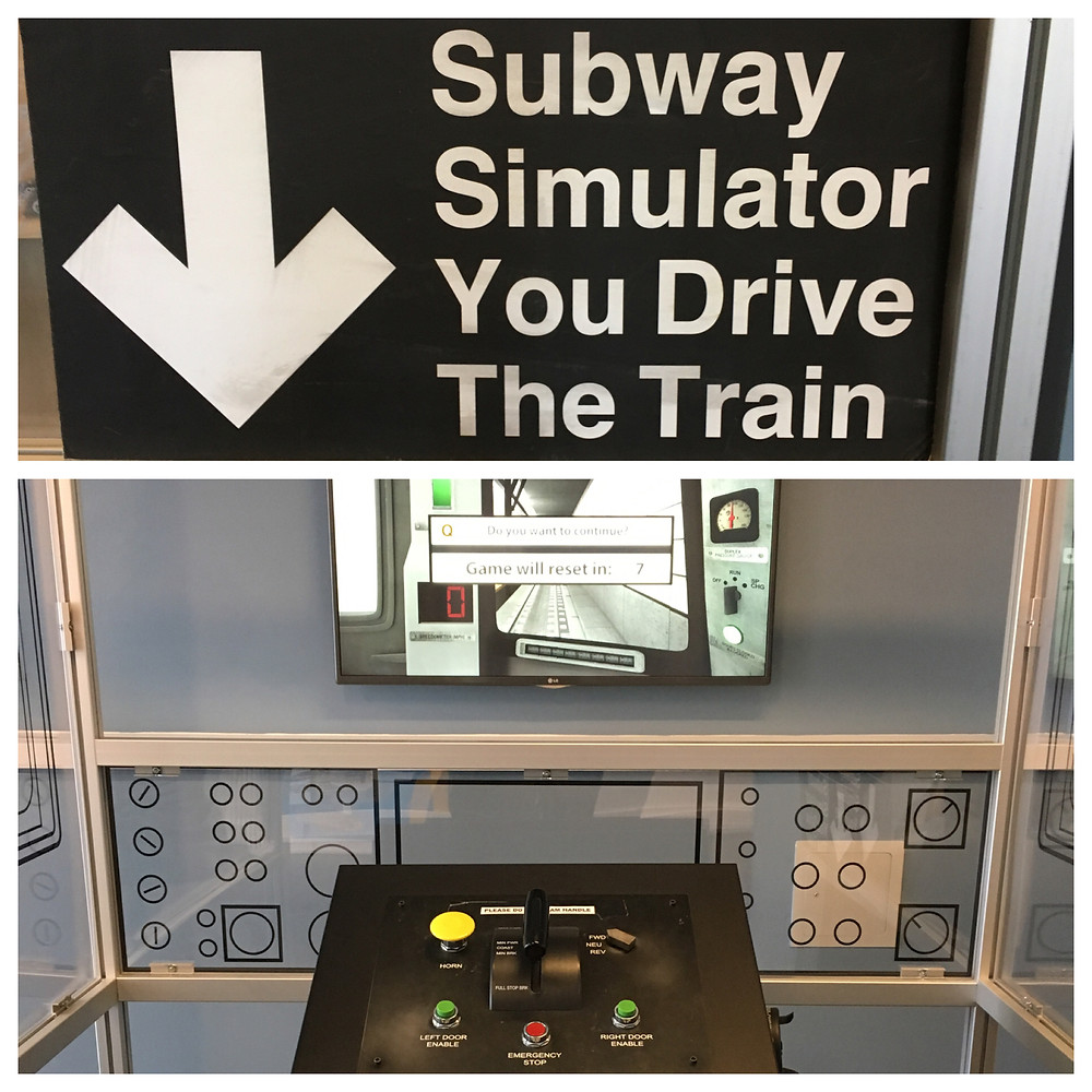 Subway Simulator at Second Avenue Subway Community Information Center