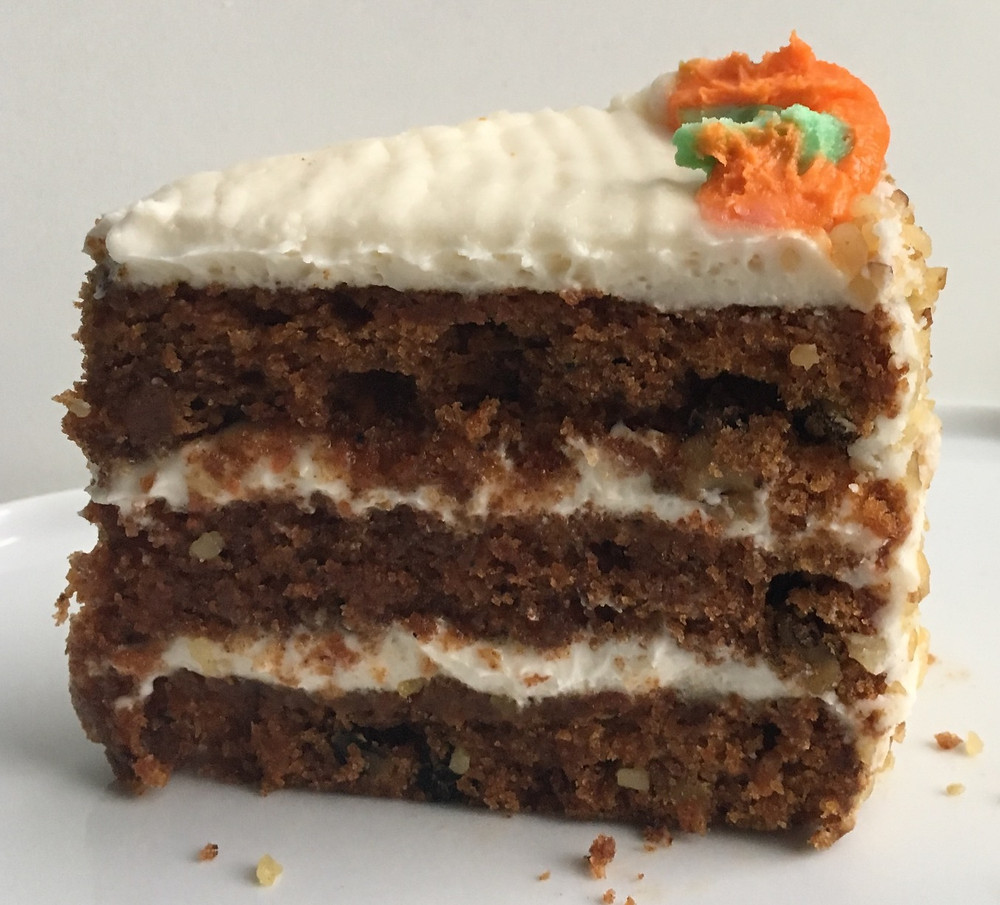 carrot cake from Carrot Top Pastries