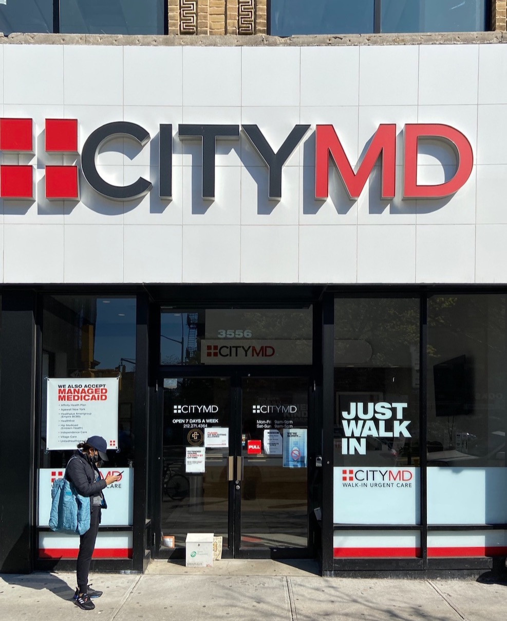 City MD now offers free COVID-19 diagnostic testing for those without insurance