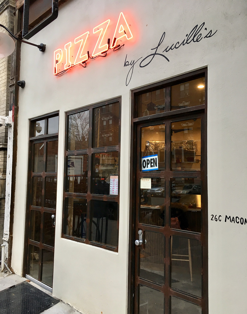 Matthew Trebek and co. open Pizza by Lucille's