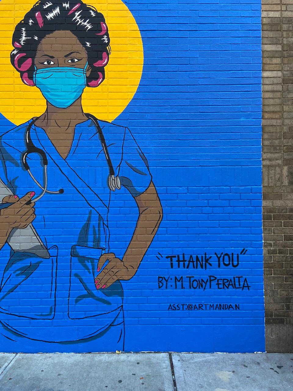 """""""Enfermera con Rolos"""" by M.Tony Peralta"""