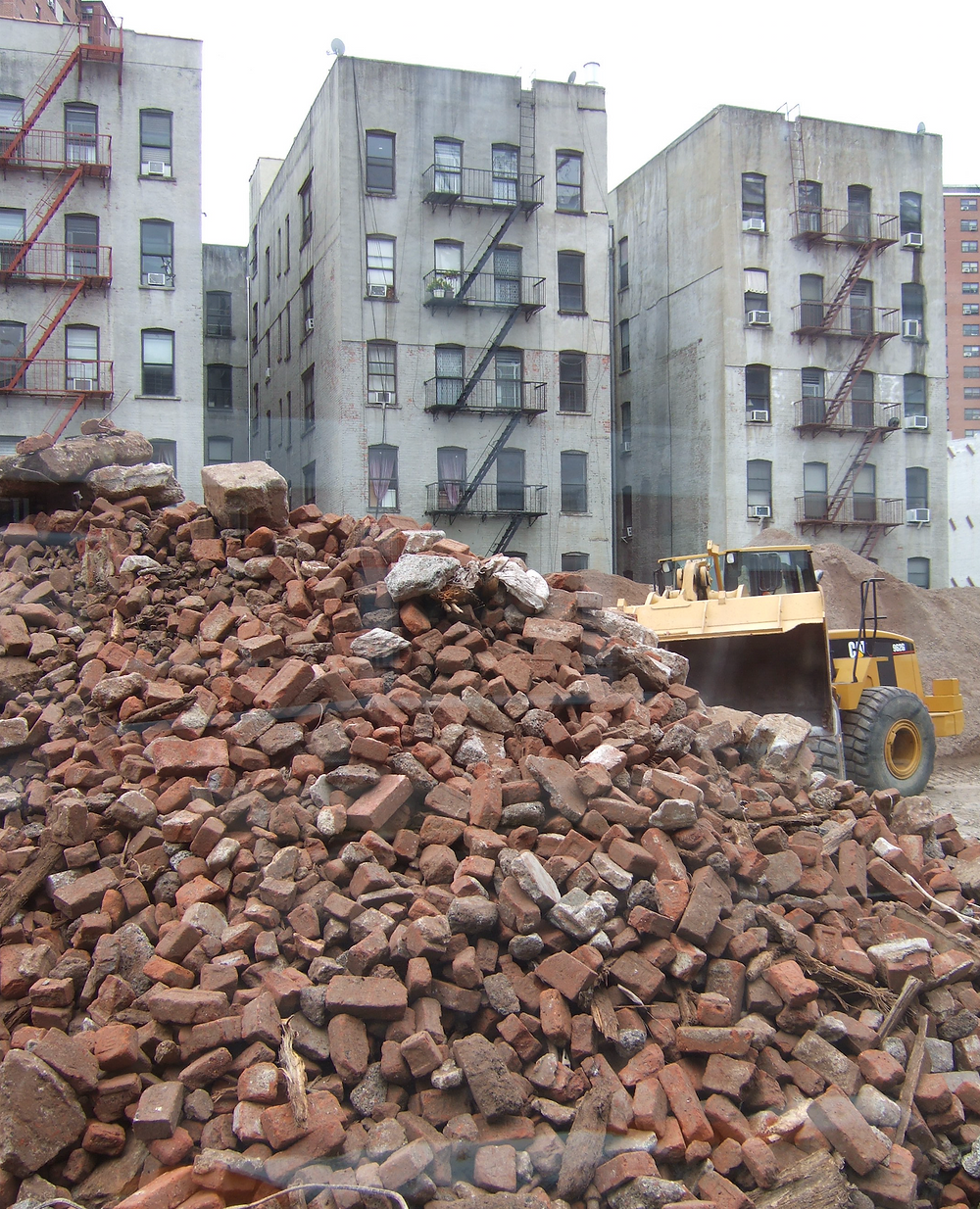 The site of the future Taystee Building in the Manhattanville Factory District