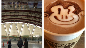 Double Date: Ice skating at Riverbank State Park + hot chocolate at The Monkey Cup