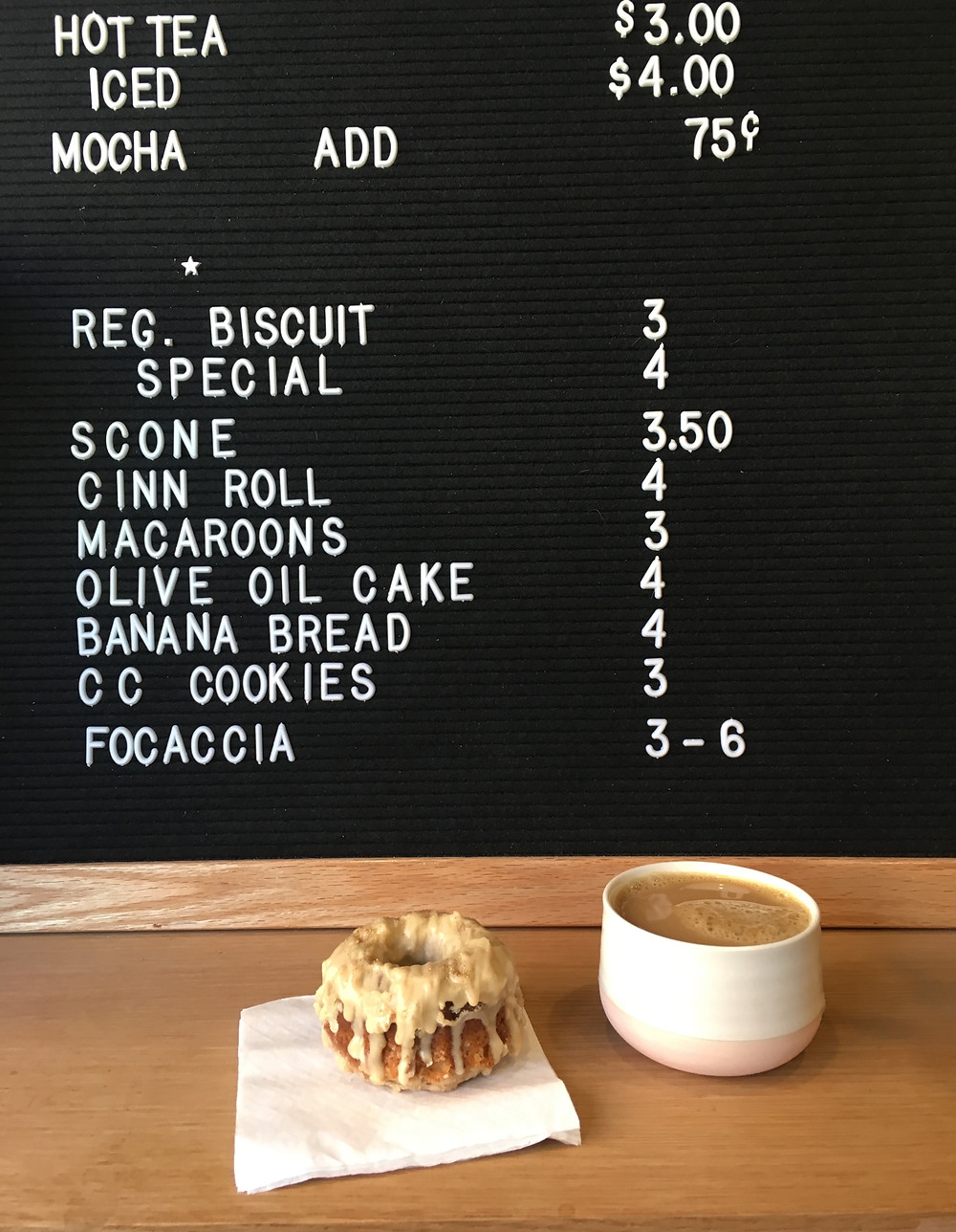 Super Nice Bakery and Cafe in East Harlem is run by Danny Macaroon