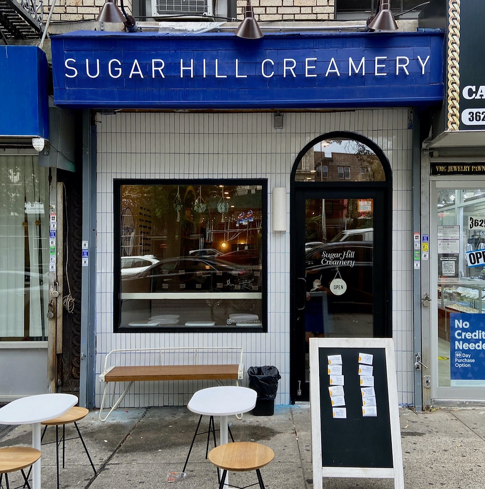 Harlem's Sugar Hill Creamery second location in Hamilton Heights