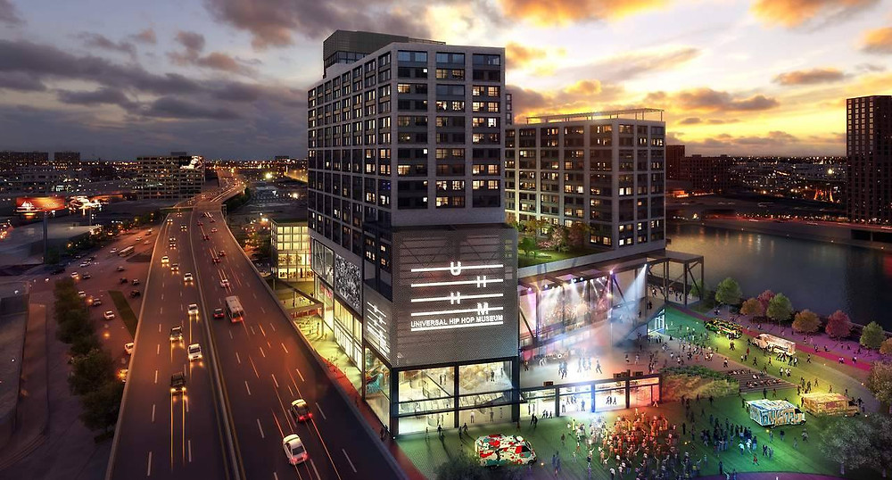 Universal Hip Hop Museum's new home
