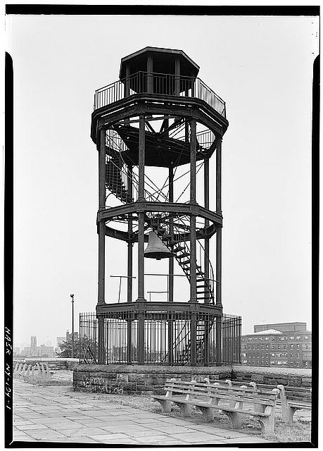 Photo of Harlem Fire Watchtower via Library of Congress