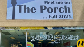 New music venue The Porch opens in Harlem this fall. Until then, stop by for free outdoor concerts.