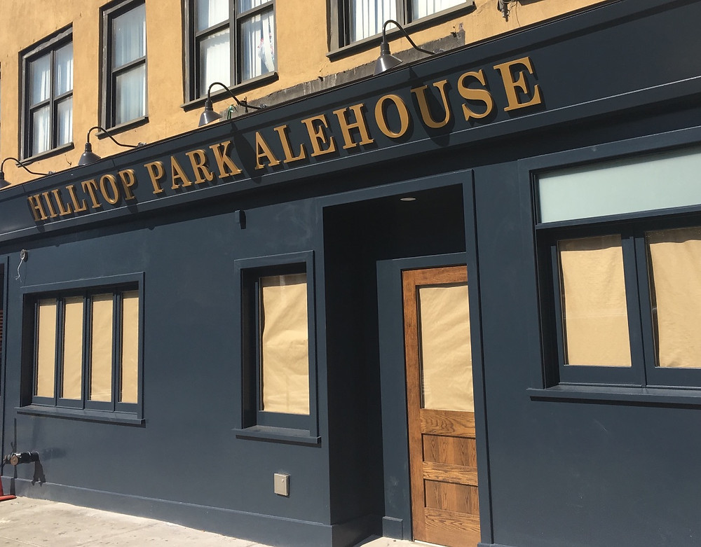 Hilltop Park Alehouse is set to open across from the new Boxers in Washington Heights