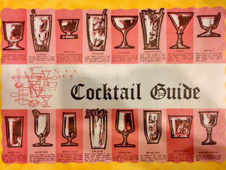 Retro cocktail recipe guide, lockdown edition