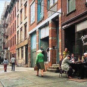 Here's the East Harlem street where Scorsese recreated a real-life mobster hangout in 'The Irishman'