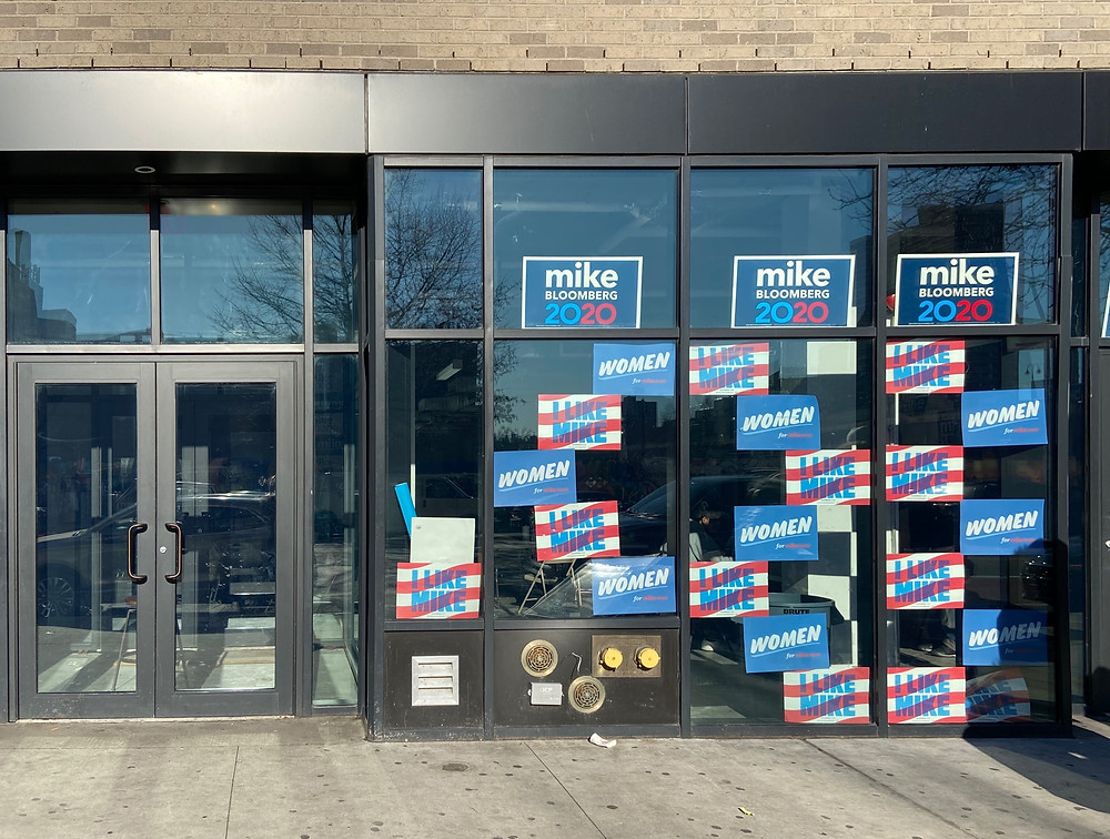 A peek at Michael Bloomberg's Harlem campaign field office