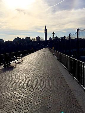 The High Bridge in Upper Manhattan
