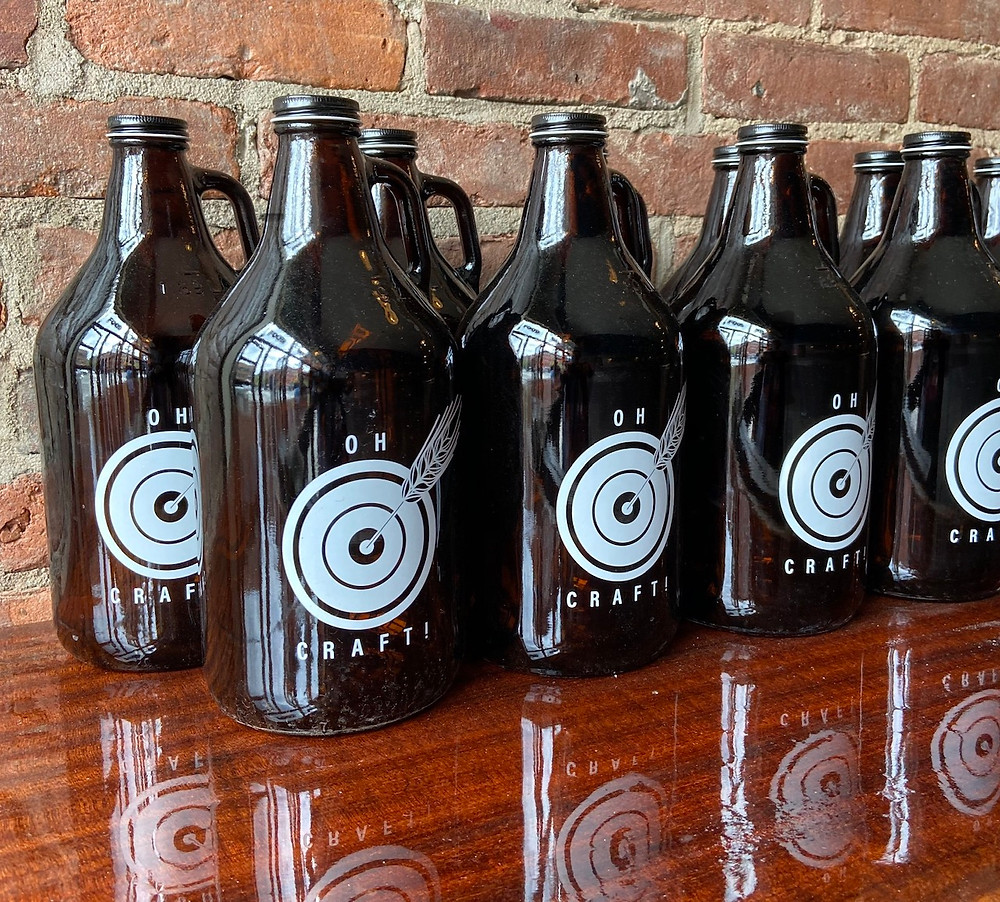 Growlers from Oh Craft!, Harlem's newest beer bar