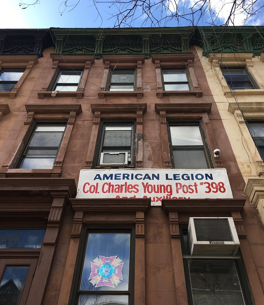 Authentic Harlem jazz spot American Legion Post 398