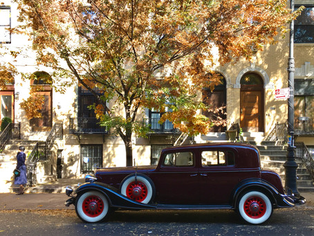 Old-timey cars line Strivers' Row for film adaptation of 'Passing'