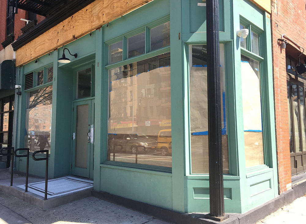 Mountain Bird is moving to this corner space at 2162 Second Avenue in East Harlem