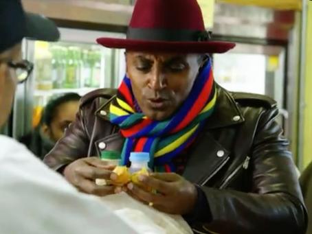 "Harlem chef Marcus Samuelsson's new PBS show, ""No Passport Required,"" celebrates the i"