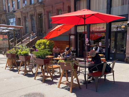 9 Harlem spots to enjoy coffee (and much more) outside