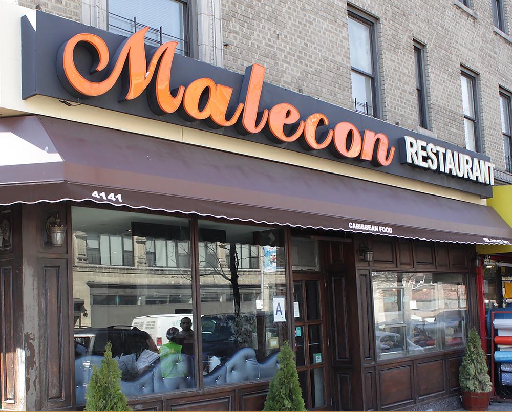 Malecon Restaurant in Washington Heights