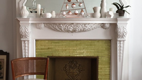 Discovering uptown's beautiful old mantels