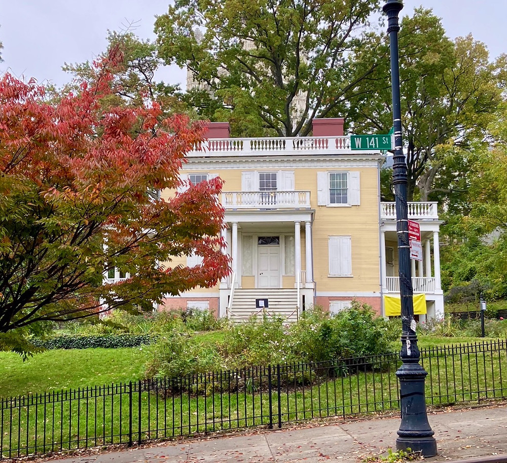 Hamilton Grange, one of the most Instagrammable spots in Upper Manhattan