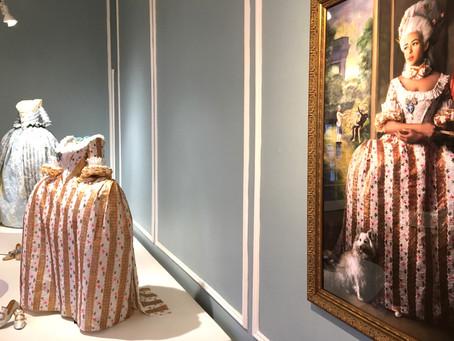 This artist reimagines the past, depicting black women in exquisite period costumes made of paper